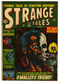 Golden Age (1938-1955):Horror, Strange Tales #11 (Atlas, 1952) Condition: VG+....