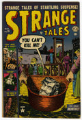 Golden Age (1938-1955):Horror, Strange Tales #16 (Atlas, 1952) Condition: FN/VF....