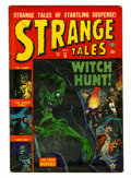 Golden Age (1938-1955):Horror, Strange Tales #18 (Atlas, 1953) Condition: FN....