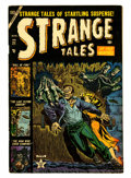 Golden Age (1938-1955):Horror, Strange Tales #21 (Atlas, 1953) Condition: FN/VF....