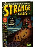 Golden Age (1938-1955):Horror, Strange Tales #22 (Atlas, 1953) Condition: FN-....