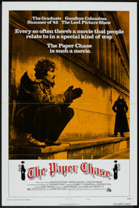 """The Paper Chase (20th Century Fox, 1973). One Sheet (27"""" X 41"""") Style A. Drama"""