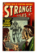 Golden Age (1938-1955):Horror, Strange Tales #33 (Atlas, 1954) Condition: FN+....