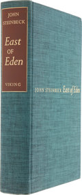 Books:Signed Editions, John Steinbeck. East of Eden. New York: Viking Press, 1952..First edition, limited to 1,500 copies and sign...