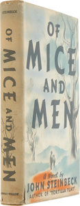 Books:First Editions, John Steinbeck. Of Mice and Men. New York: Covici Friede,[1937].. First edition, first issue....