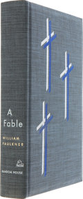 Books:Signed Editions, William Faulkner. A Fable. New York: Random House, [1954].. First edition, number 847 of 1,000 limited edition...