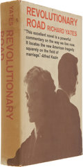 Books:Signed Editions, Richard Yates. Revolutionary Road. Boston: Little, Brown andCompany, [1961].. First edition. Inscribed ...