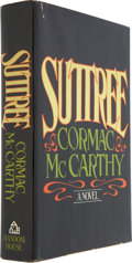 Books:First Editions, Cormac McCarthy. Suttree. New York: Random House, [1979]..First edition....