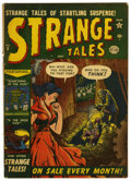 Golden Age (1938-1955):Horror, Strange Tales #8 (Atlas, 1952) Condition: VG+....