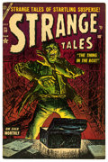 Golden Age (1938-1955):Horror, Strange Tales #30 (Atlas, 1954) Condition: FN+....