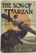 Books:First Editions, Edgar Rice Burroughs. The Son of Tarzan. Chicago: A. C.McClurg and Co., 1917.. First edition, first state, lackin...