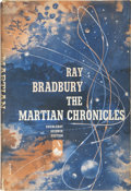 Books:First Editions, Ray Bradbury. The Martian Chronicles. Garden City: Doubleday& Company, Inc., 1950.. First edition, first stat...