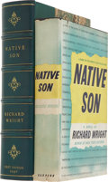 Books:First Editions, Richard Wright. Native Son. New York: Harper & Brothers,1940....