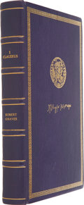 Books:Signed Editions, Robert Graves. I, Claudius. [London]: Paradin, [1977]....