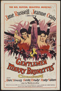 "Movie Posters:Musical, Gentlemen Marry Brunettes (United Artists, 1955). One Sheet (27"" X 41""). Musical.. ..."