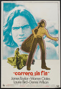 "Movie Posters:Cult Classic, Two-Lane Blacktop (Universal, 1971). Spanish One Sheet (27"" X 41"").Cult Classic.. ..."