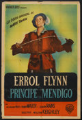 "The Prince and the Pauper (Warner Brothers, 1937). Argentinean Poster (29"" X 43""). Action"