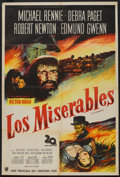 """Movie Posters:Drama, Les Miserables (20th Century Fox, 1952). Argentinean Poster (29"""" X 43""""). Drama.. ..."""