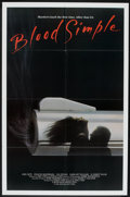 "Blood Simple (Skouras Pictures, 1984). One Sheet (27"" X 41""). Thriller"