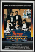 """Movie Posters:Comedy, Diner (MGM, 1982). One Sheet (27"""" X 41""""). Comedy.. ..."""
