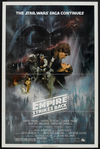 """The Empire Strikes Back (20th Century Fox, 1980). One Sheet (27"""" X 41"""") Style A. Science Fiction"""