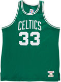 Basketball Collectibles:Uniforms, Larry Bird Signed Jersey. ...