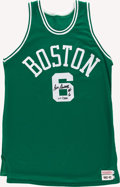 Basketball Collectibles:Uniforms, Bill Russell Signed Jersey. ...