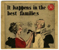 Platinum Age (1897-1937):Miscellaneous, It Happens in the Best Families Special Railroad Edition (PowersPhoto Engraving Co., 1920) Condition: FN....