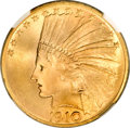 Indian Eagles, 1910 $10 MS67 NGC....
