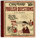 Platinum Age (1897-1937):Miscellaneous, Comic Monthly #10 Foolish Questions (Embee Dist. Co., 1922)Condition: FN....
