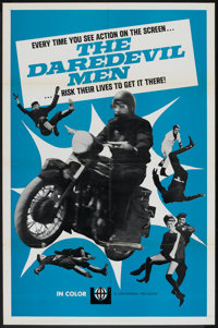 "The Daredevil Men (Universal, 1960). One Sheet (27"" X 41""). Action"