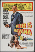 "Movie Posters:Adventure, Pier 5, Havana (United Artists, 1959). One Sheet (27"" X 41"").Adventure.. ..."