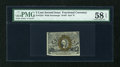Fractional Currency:Second Issue, Fr. 1234 5c Second Issue PMG Choice About Unc 58 EPQ....