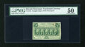 Fractional Currency:First Issue, Fr. 1312 50c First Issue PMG About Uncirculated 50....