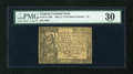 Colonial Notes:Virginia, Virginia May 4, 1778 (Dates Printed) $7 PMG Very Fine 30....