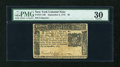 Colonial Notes:New York, New York September 2, 1775 $5 PMG Very Fine 30....