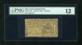 Colonial Notes:New York, New York April 15, 1758 L10 PMG Fine 12....