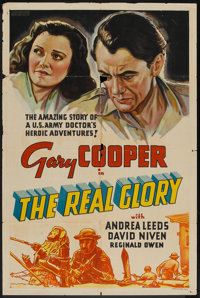 "The Real Glory (United Artists, 1939). Other Company One Sheet (27"" X 41""). War"