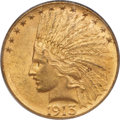 Indian Eagles, 1913-S $10 MS60 PCGS....
