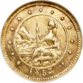 California Fractional Gold, 1853 50C Arms of California 50 Cents, BG-435, Low R.5, MS63 NGC....