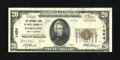 National Bank Notes: , Wheeling, WV - $20 1929 Ty. 2 The NB of West Virginia Ch. # 1424....