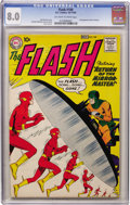 Silver Age (1956-1969):Superhero, The Flash #109 (DC, 1959) CGC VF 8.0 Off-white to white pages....