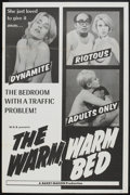 "Movie Posters:Sexploitation, The Warm, Warm Bed (W.G.B., 1968). One Sheet (27"" X 41"").Sexploitation.. ..."