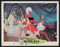 "Movie Posters:Animated, Peter Pan (Buena Vista, R-1969). Lobby Cards (6) (11"" X 14"").Animated.. ... (Total: 6 Items)"