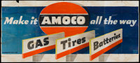 """American Oil Company """"Amoco"""" Advertising Poster (Amoco, 1960s). 24 Sheet (104"""" X 232"""")"""