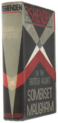 Books:First Editions, W. Somerset Maugham. Ashenden. London: Heinemann, 1928..First edition. Octavo. 304 pages....