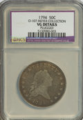 Early Half Dollars, 1794 50C --Plugged--NCS. VG Details....