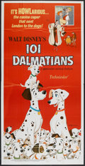 "Movie Posters:Animated, 101 Dalmatians (Buena Vista, R-1969). Three Sheet (41"" X 81""). Animated.. ..."