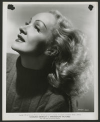 "Marlene Dietrich by A. L. ""Whitey"" Schafer Lot (Paramount & Warner Brothers, 1940s-1960s). Stills (6)..."
