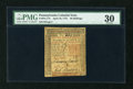 Colonial Notes:Pennsylvania, Pennsylvania April 10, 1775 50s PMG Very Fine 30....